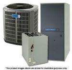 American Standard High Efficiency Gas Furnace Split Systems