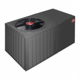 Rheem - Classic 2 1/2 Ton, 14 SEER, Packaged Heat Pump With Horizontal Discharge, 208-230 V, 1 Ph, 60 Hz