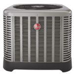 2 Ton Rude / Rheem 16 SEER Two-Stage Heat Pump Condenser